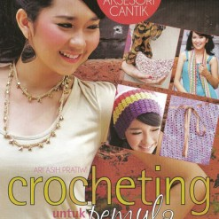 Cover Buku Crocheting Untuk Pemula