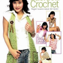 Buku Fashion Crochet: Ragam busana casual dari rajutan