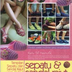 Buku Sepatu & Sandal Rajut