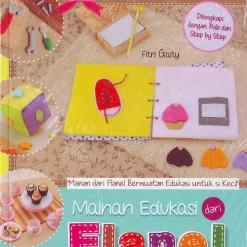 Buku Mainan Edukasi dari Flanel