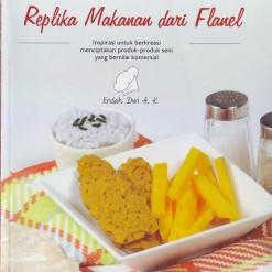 Buku Replika Makanan Dari Flanel