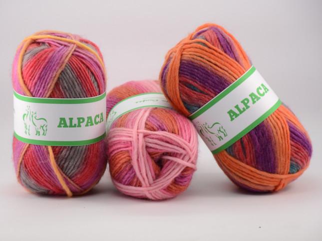 Benang rajut alpaca worsted (6)