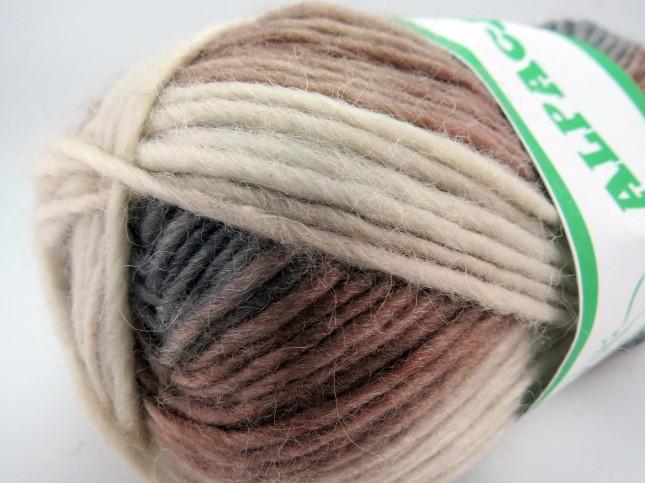 Tekstur detail benang rajut Alpaca. Klik untuk memperbesar.