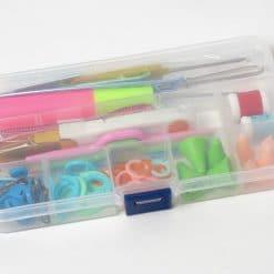 Paket aksesoris alat rajut knit kecil