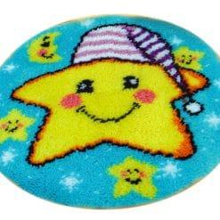 Latch Hook Kit Karpet Bintang 50X50cm L10