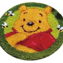 Latch Hook Kit Karpet Pooh 50X50cm L15