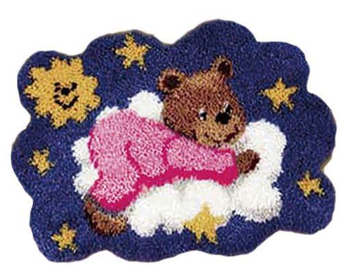 Latch Hook Kit Karpet Teddy Bear 54X40cm L19 1