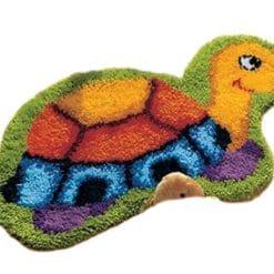 Latch Hook Kit Karpet Turtle 48X35cm Print L20