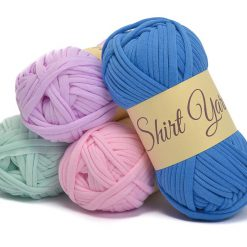 Benang rajut kaos t shirt yarn import