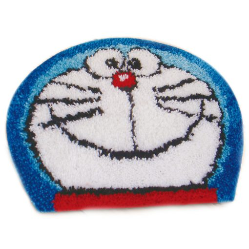 L36 Latch hook kit karpet doraemon print