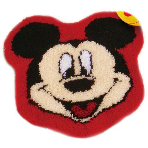 L37 Latch hook kit karpet mickey print