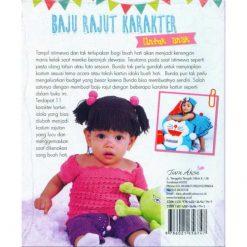 Buku Baju Rajut Karakter Untuk Anak