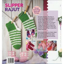 Buku Slipper Rajut