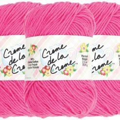 Benang Rajut Red Heart Creme De La Creme - Brite Pink