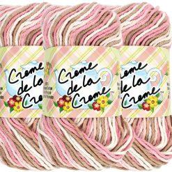 Benang Rajut Red Heart Creme De La Creme - Cherry Blossom