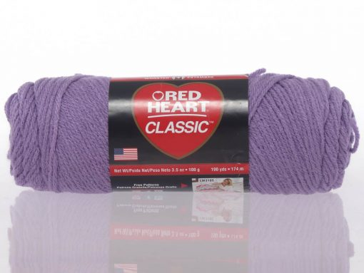 Benang Rajut Red Heart Classic – Lavender 1