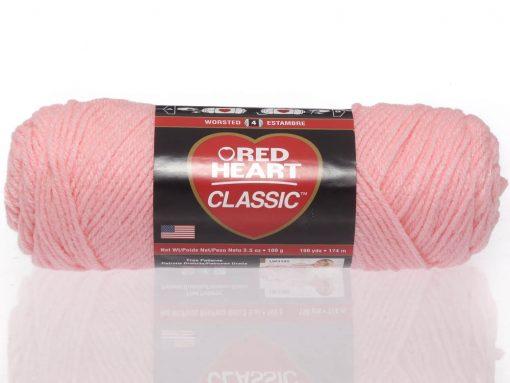 Benang Rajut Red Heart Classic – Pink 1
