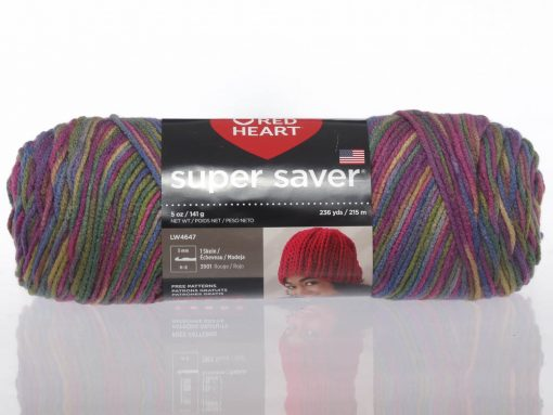 Benang Rajut Red Heart Super Saver – Artist Print 1