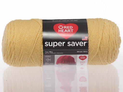 Benang Rajut Red Heart Super Saver – Cornmeal 1