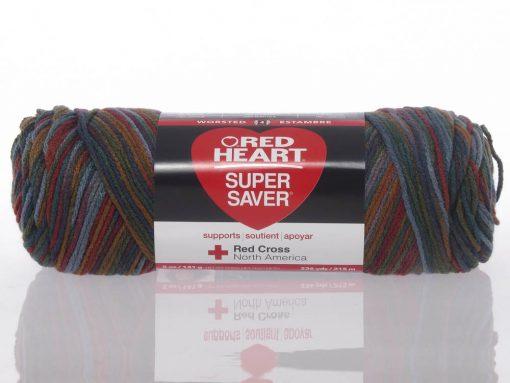 Benang Rajut Red Heart Super Saver – Williamsburg Print 1