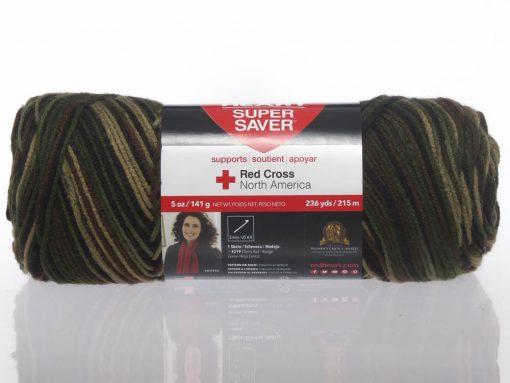 Benang Rajut Red Heart Super Saver – Camouflage 1