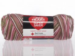 Benang Rajut Red Heart Super Saver - Pink Camo