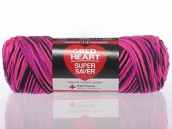 Benang Rajut Red Heart Super Saver - Panther Pink