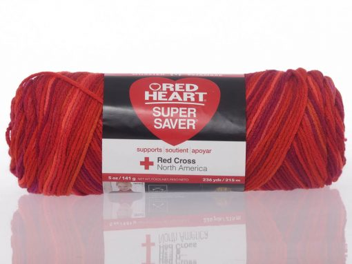 Benang Rajut Red Heart Super Saver – Chili 1