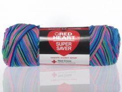Benang Rajut Red Heart Super Saver - Bright Mix