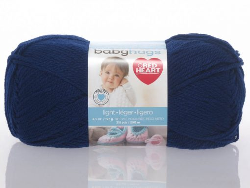 Benang Rajut Red Heart Baby Hugs – Blueberry 1
