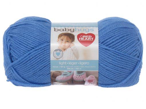 Benang Rajut Red Heart Baby Hugs – Blue 1
