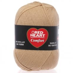 Benang Rajut Red Heart Comfort Yarn - Tan