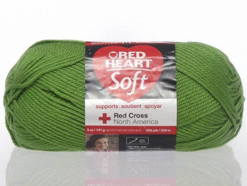 Benang Rajut Red Heart Soft Yarn – Guacamole 1