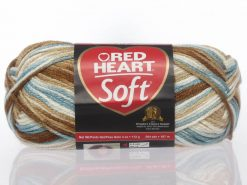 Benang Rajut Red Heart Soft Yarn - Icy Pond