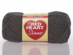 Benang Rajut Red Heart Shimmer - Pewter