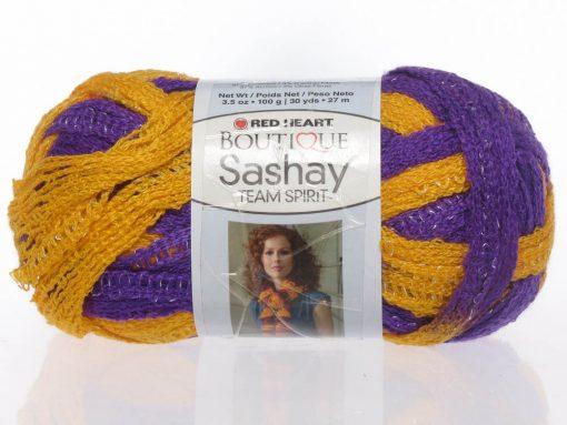 Benang Rajut Red Heart Boutique Sashay – Purple Gold 1