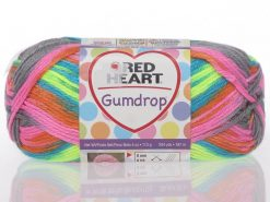 Benang Rajut Red Heart Gumdrop - Rocky Candy