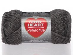 Benang Rajut Red Heart Reflective - Grey