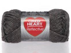 Benang Rajut Red Heart Reflective - Grey