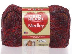 Benang Rajut Red Heart Medley - Volcano