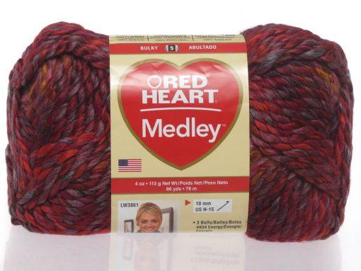 Benang Rajut Red Heart Medley – Volcano 1