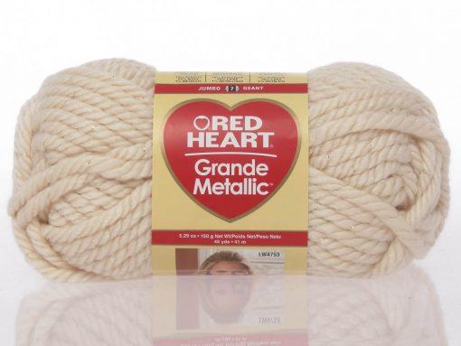 Benang Rajut Red Heart Grande – Straw 1