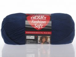 Benang Rajut Red Heart Fashion Soft - Navy